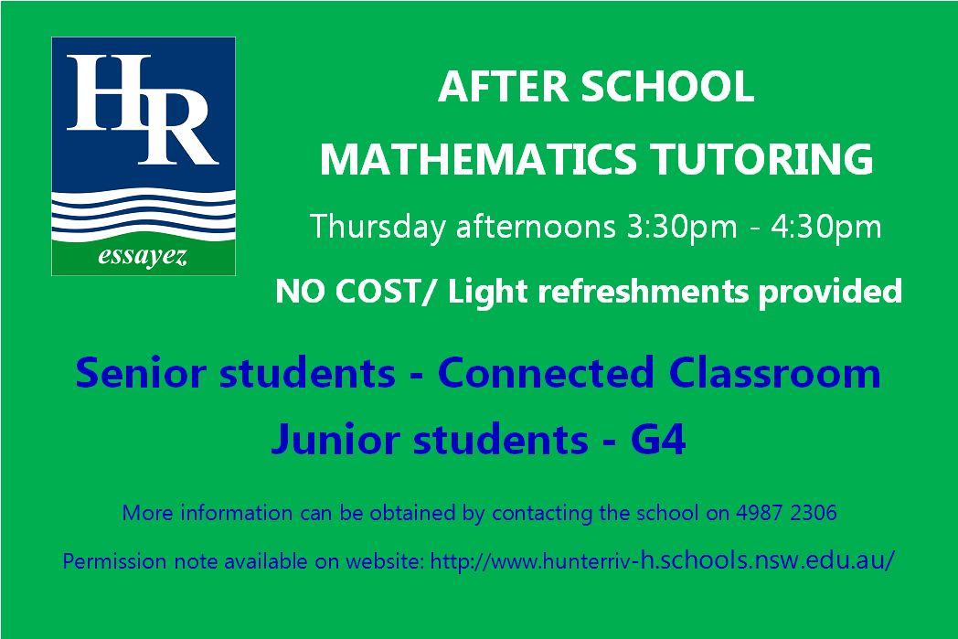 Maths Tutoring inforamtion