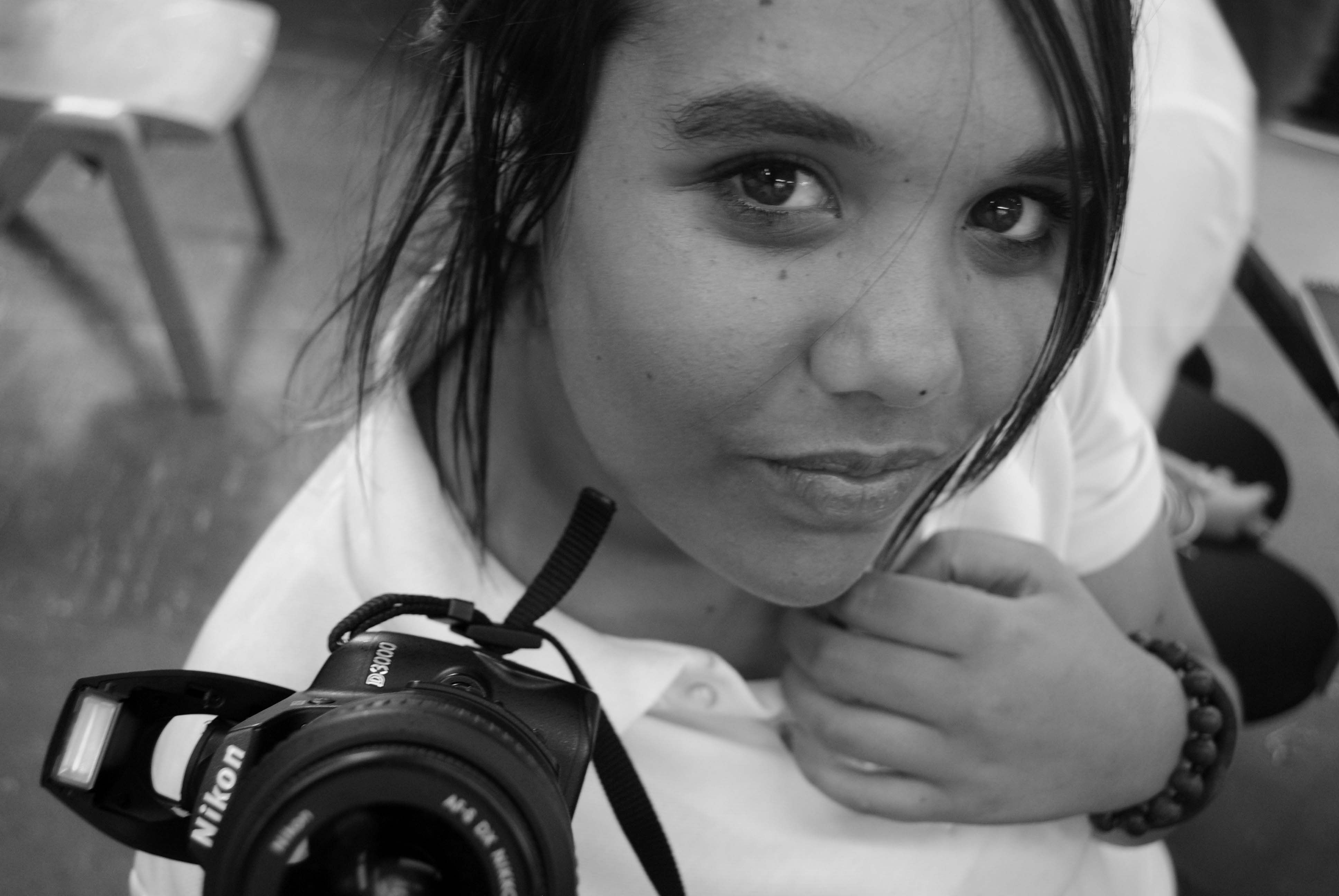 Photography student Year 11